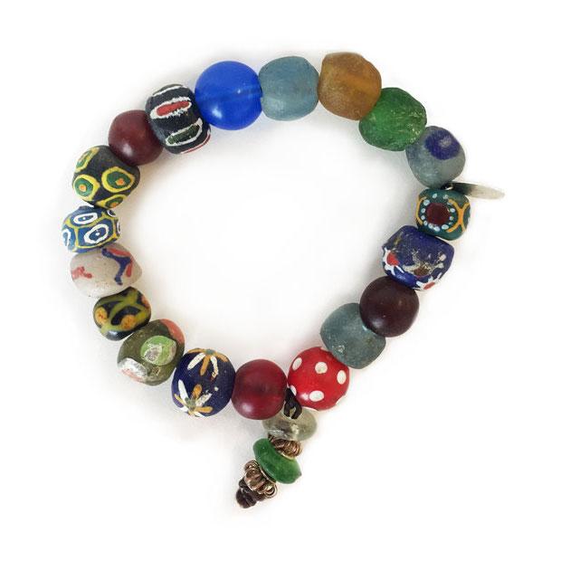 Chifundo African Trade Bead Bracelets